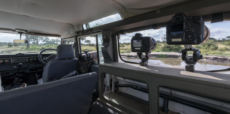 jeep fotografica kruger national park