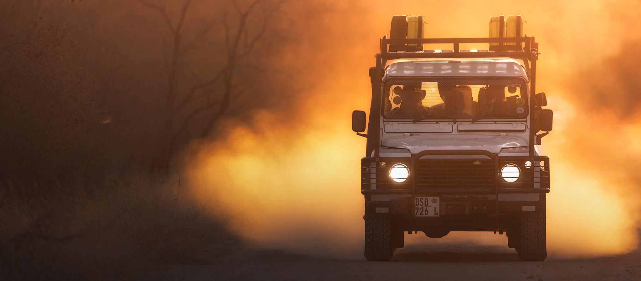 jeep kruger national park defender