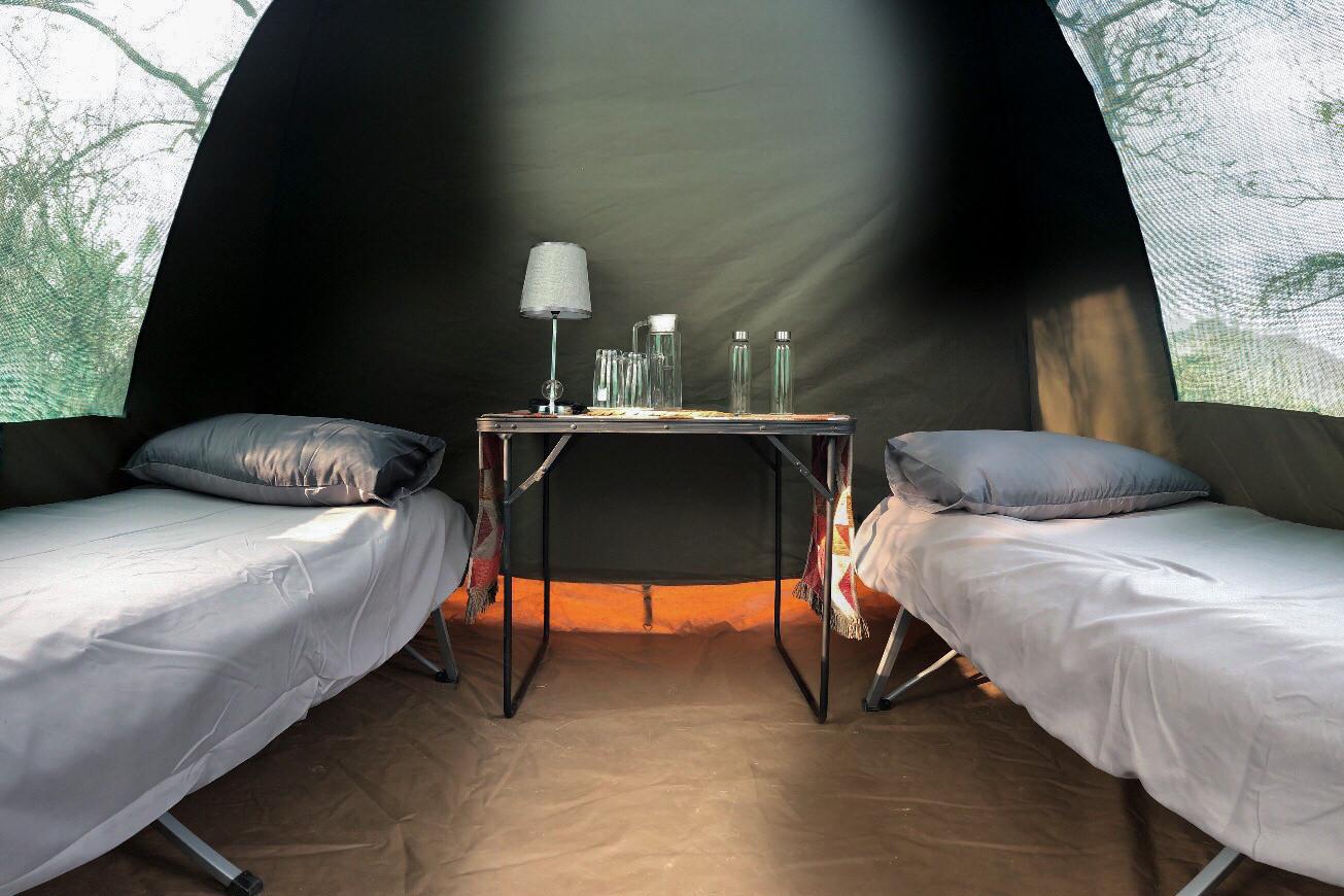 tende in canvas kruger national park