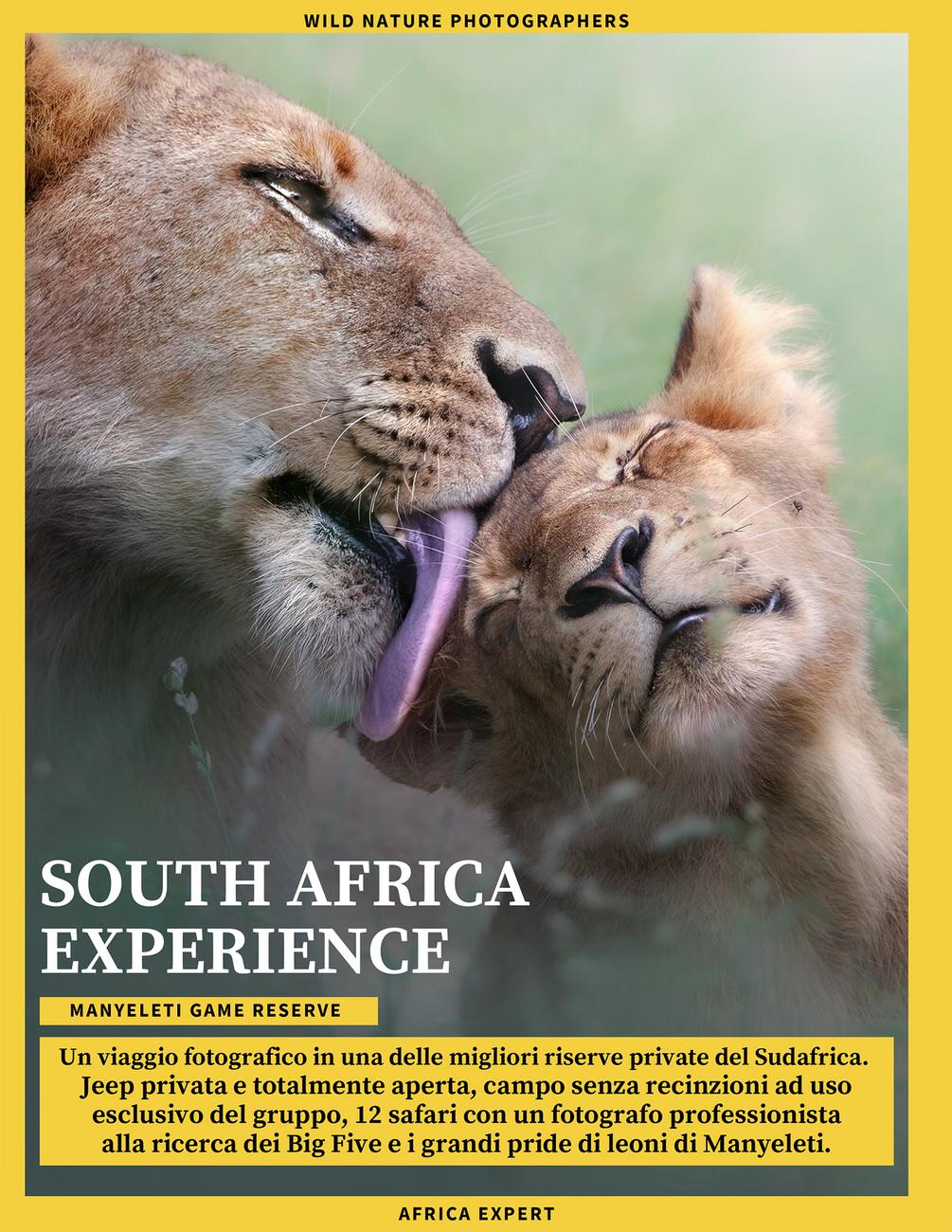viaggio fotografico sudafrica - riserva privata