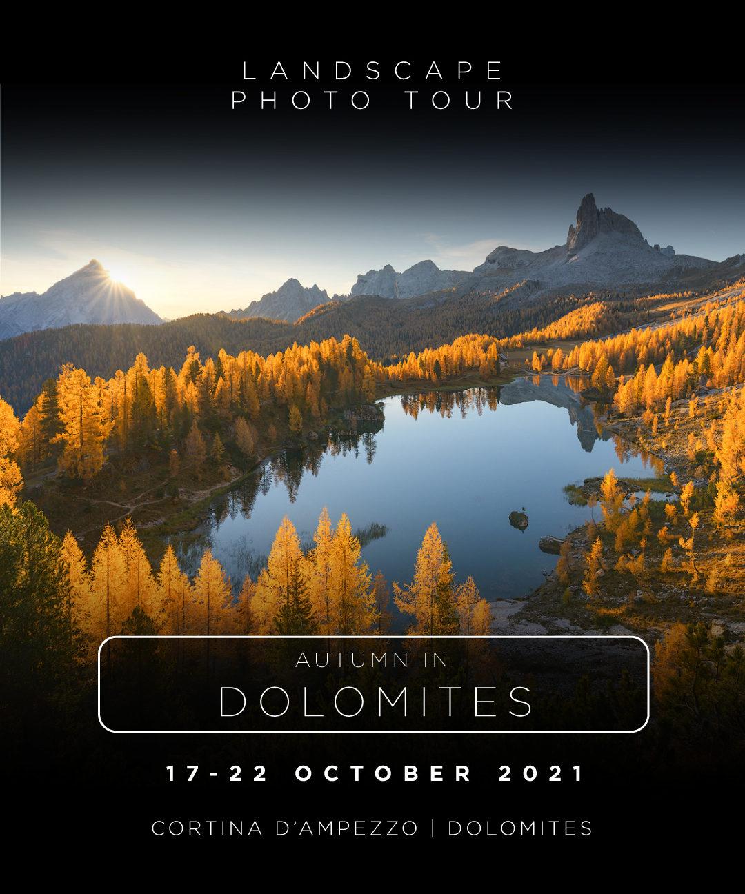 Dolomiti photo tour italy
